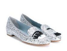 slippers con brillo Chiara Ferragni