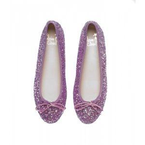Bailarinas brillantes rosa