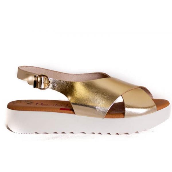 sandalia-de-piel-dorada-con-plataforma-blanca