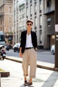 Tendencias de moda: Slippers y pantalón culotte