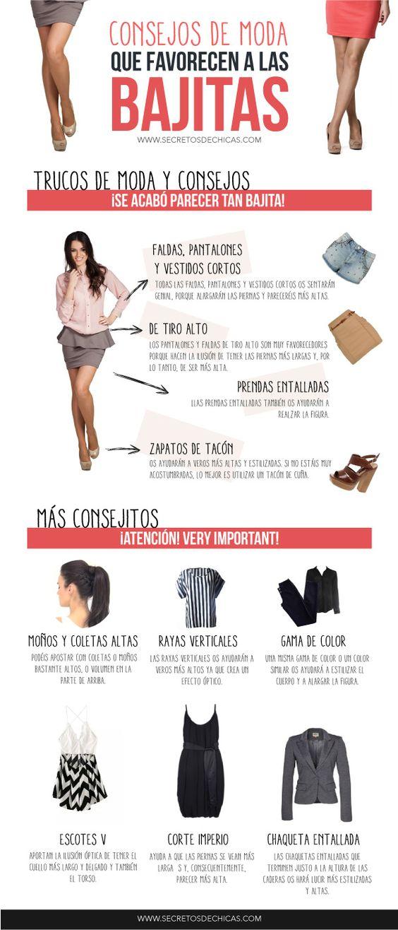 Consejos de moda para bajitas