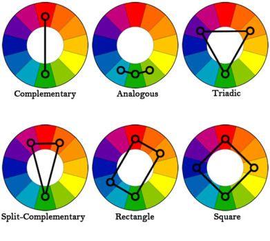 bailarinas de colores combinaciones