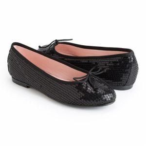 bailarinas negras cómodas