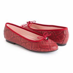 bailarinas de colores rojo