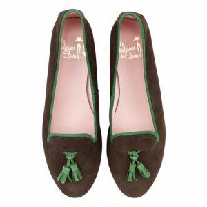 slipper-ante-marron-borlas-ante-verde