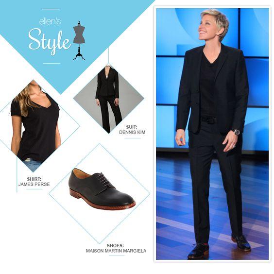 Ellen de Generes zapatos Oxford