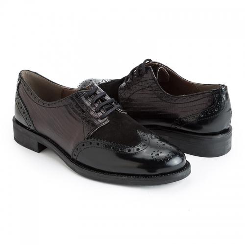 Las bailarinas de Eloísa zapatos Oxford