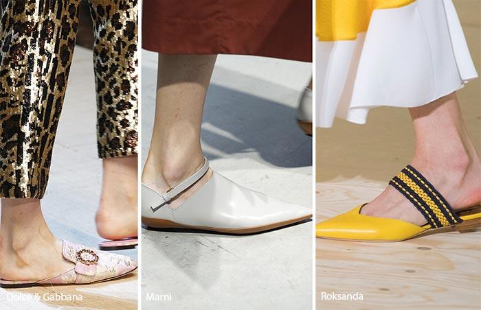 Slippers Zapatos de moda primavera 2017