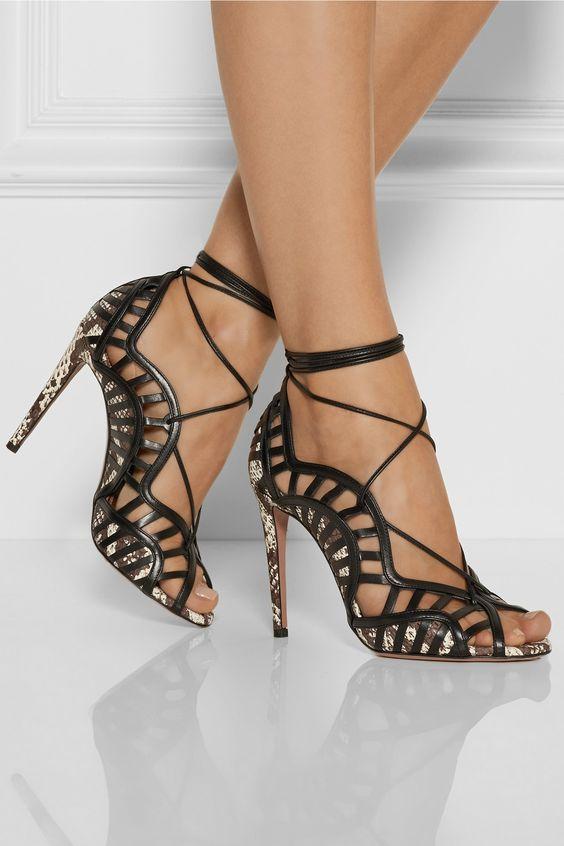 Sandalias de tacon, zapatos para boda