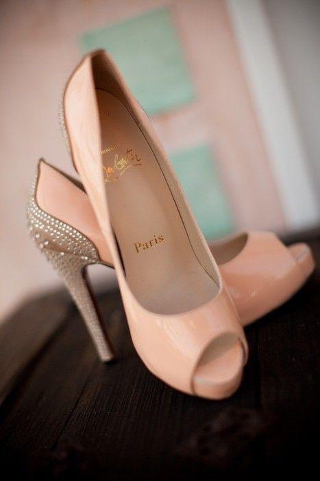 zapatos para boda color nude