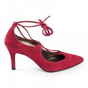 zapato-de-tacon-en-ante-color-rojo-con-cordones-para-atar-al-tobillo